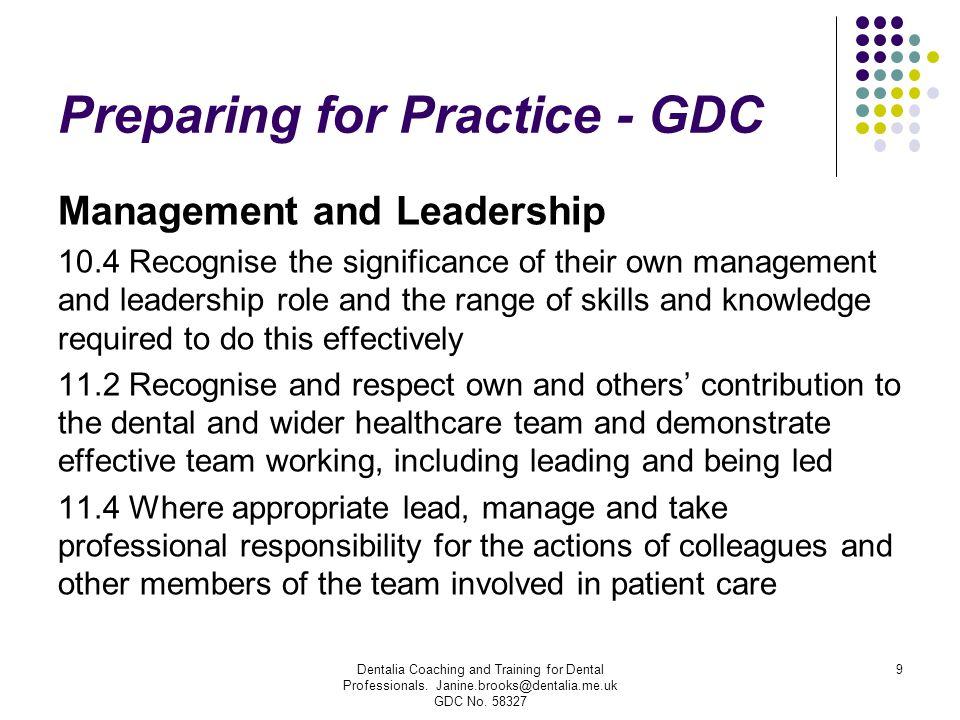 Preparing for Practice - GDC