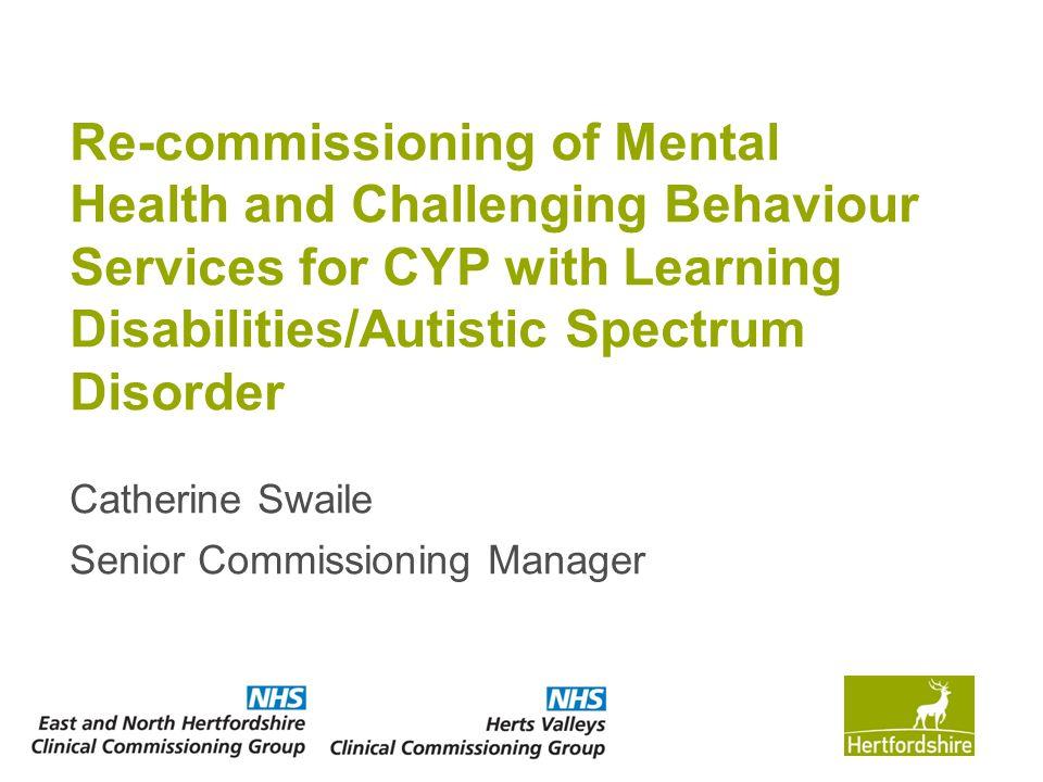 Catherine Swaile Senior Commissioning Manager