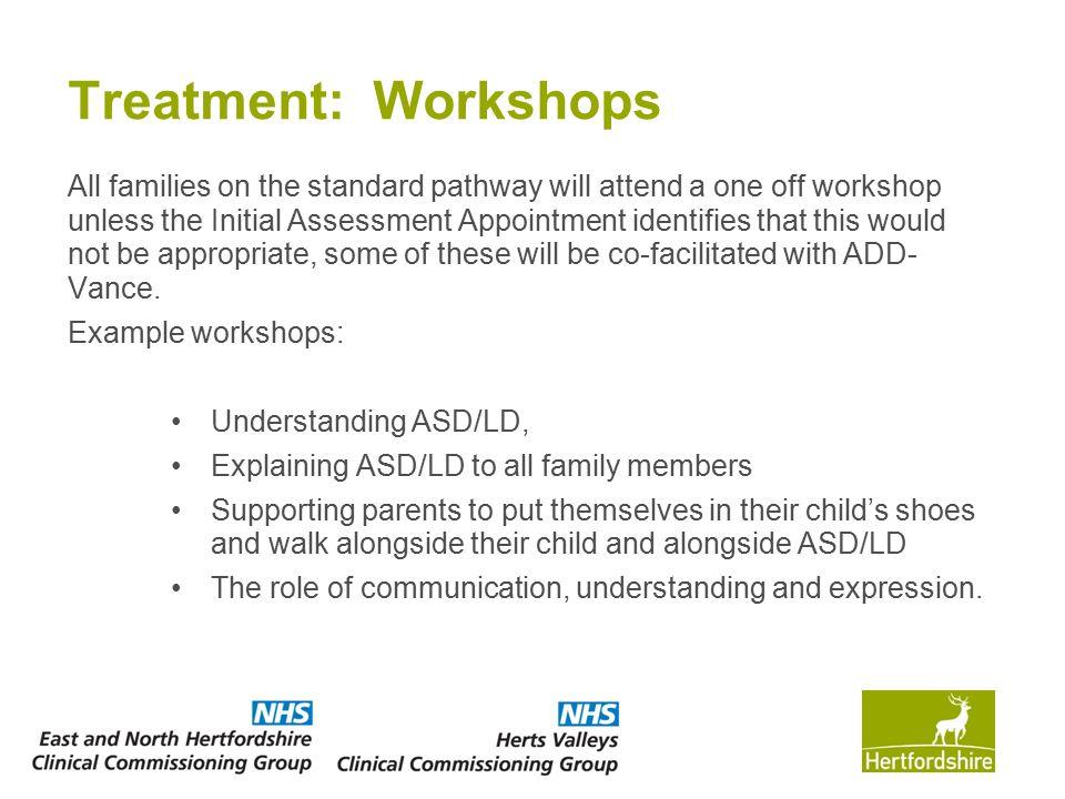 Treatment: Workshops