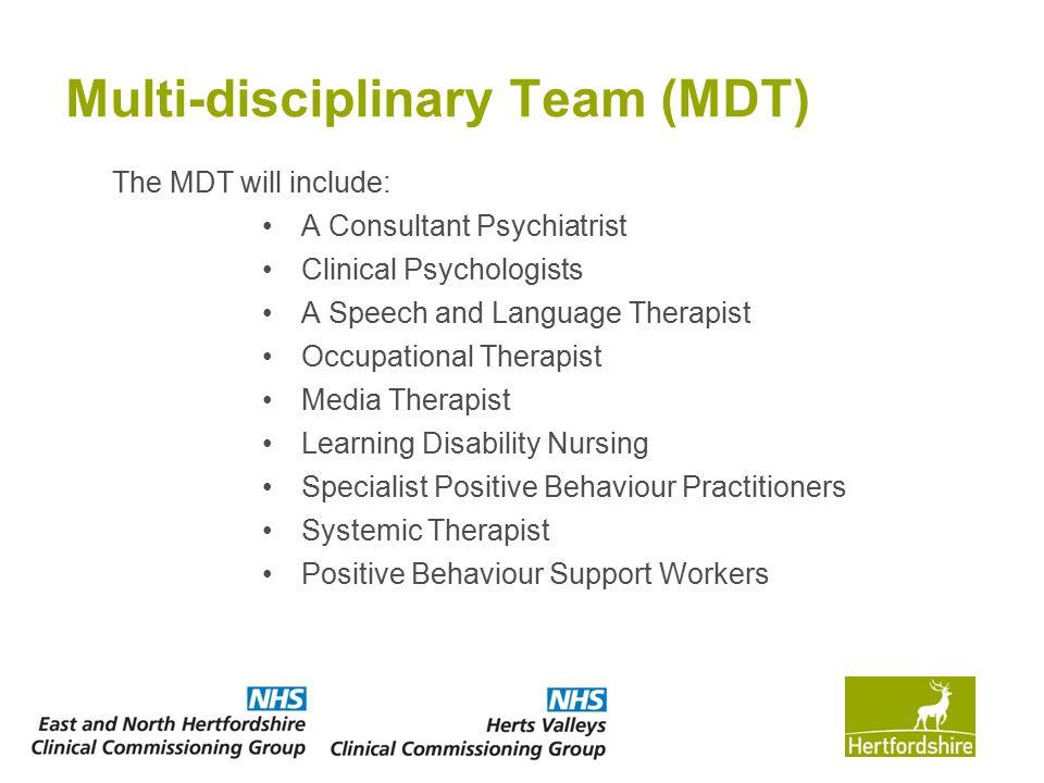 Multi-disciplinary Team (MDT)