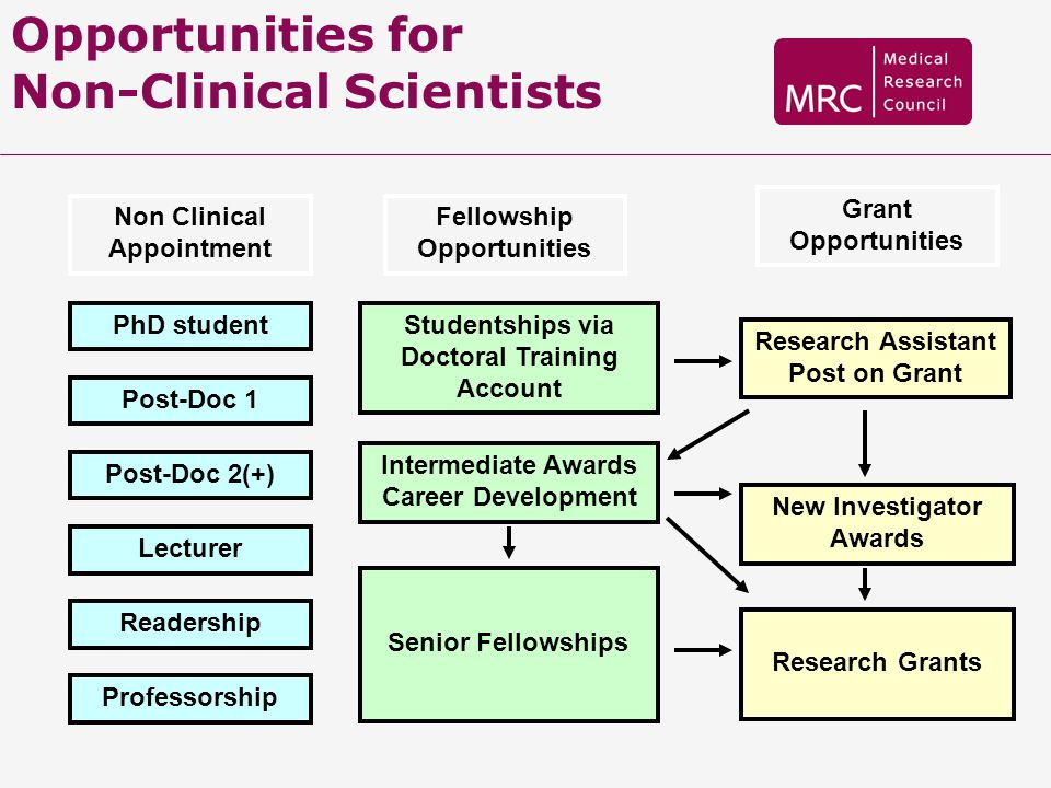 Opportunities for Non-Clinical Scientists