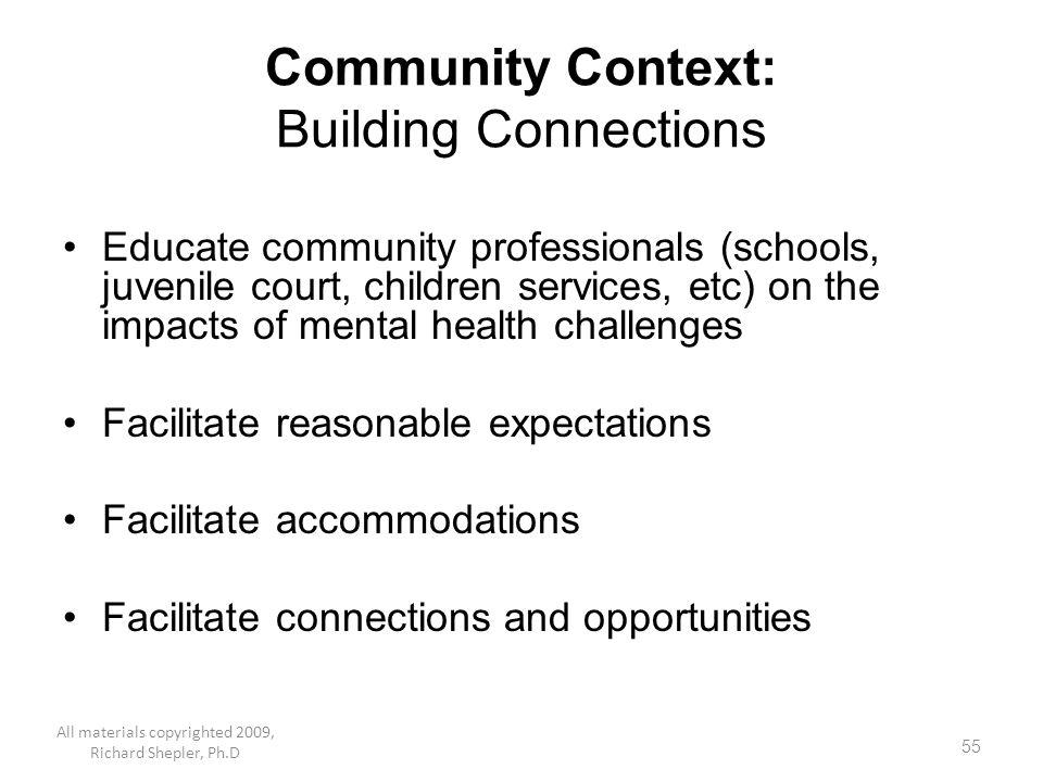 Community Context: Building Connections