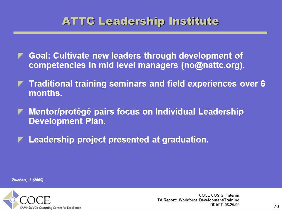 ATTC Leadership Institute