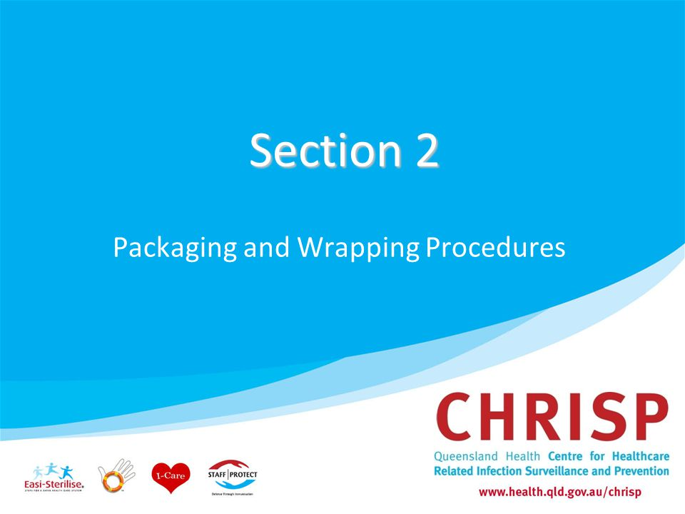 Packaging and Wrapping Procedures