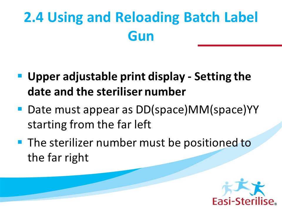 2.4 Using and Reloading Batch Label Gun