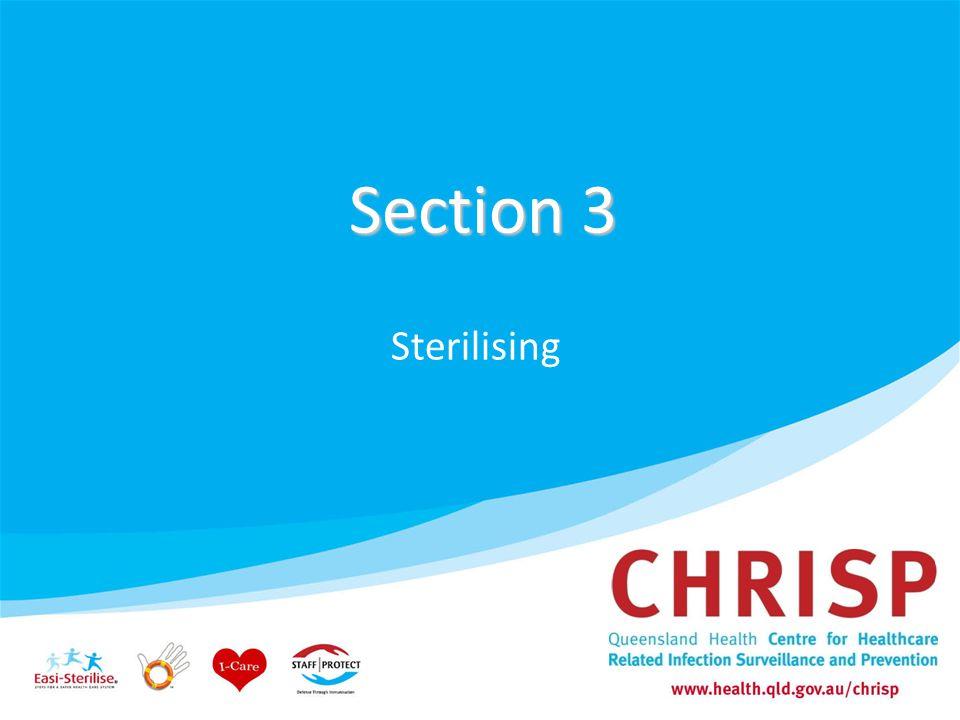 Section 3 Sterilising 47