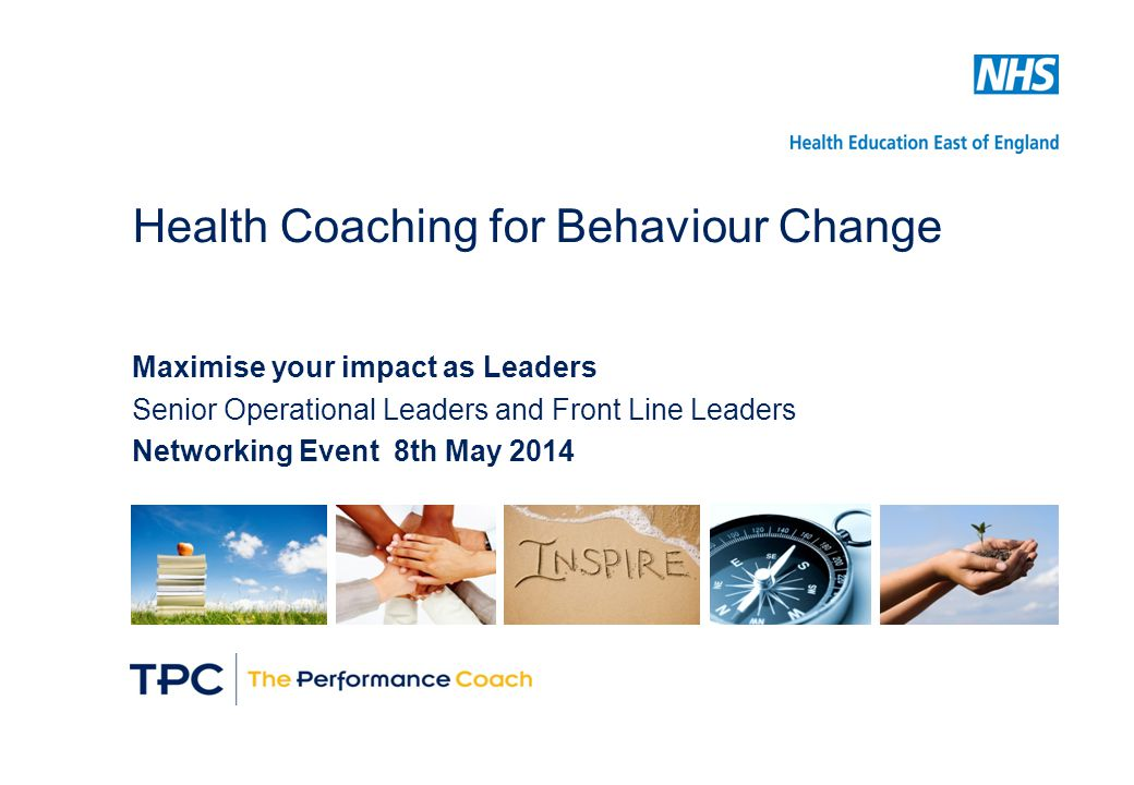 Health Coaching for Behaviour Change