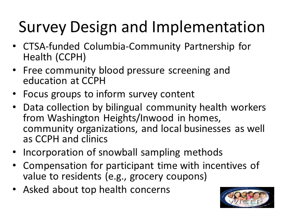 Survey Design and Implementation