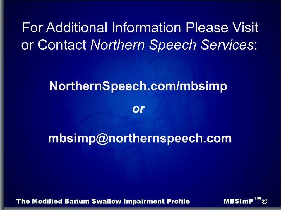 NorthernSpeech.com/mbsimp