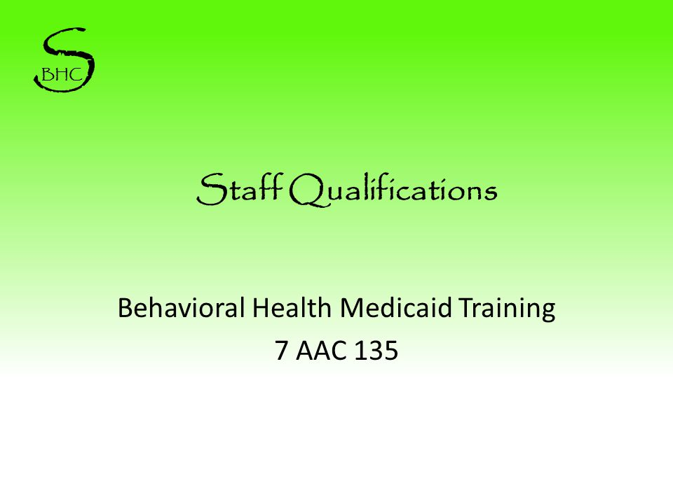 Behavioral Health Compliance Solutions, LLC