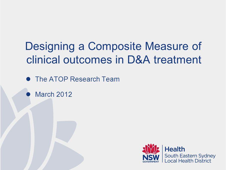 Composite performance measures