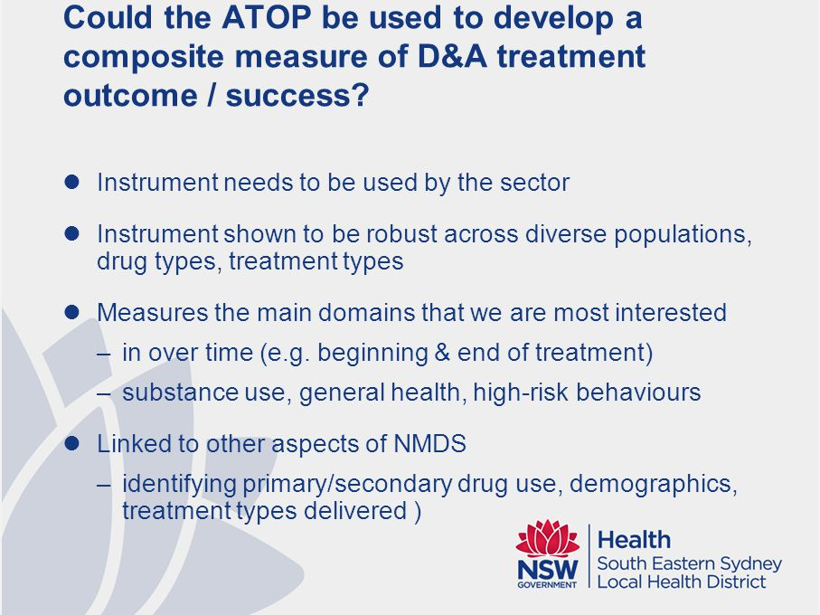 ATOP Treatment Episode Global Outcome
