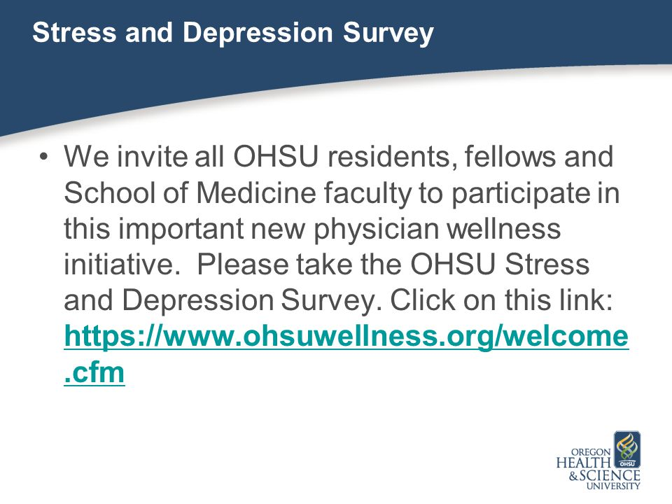 Stress and Depression Survey