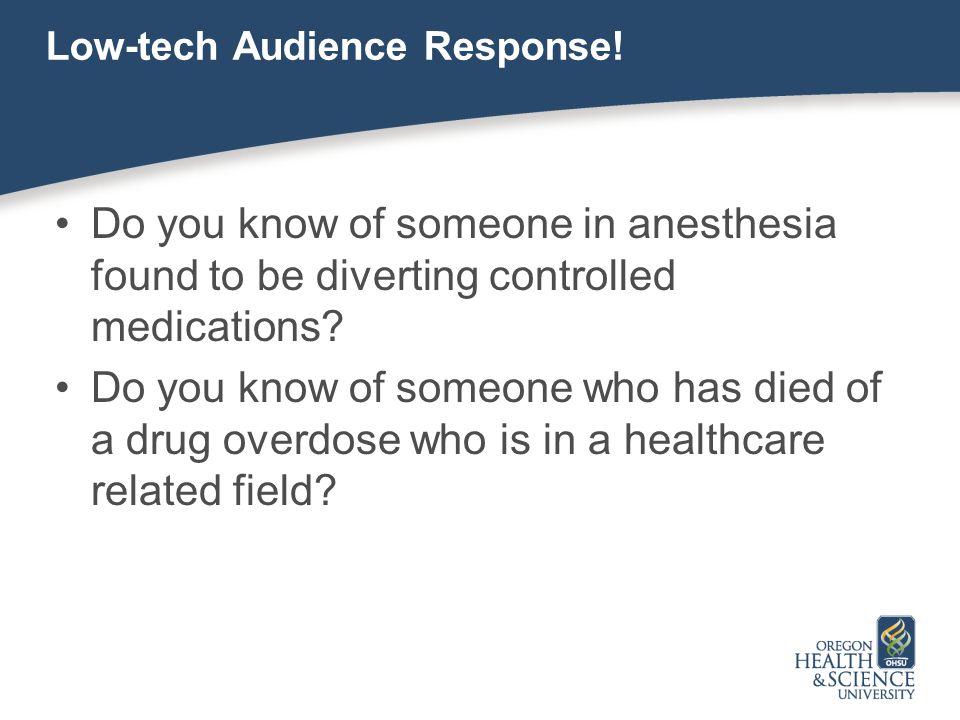 Low-tech Audience Response!