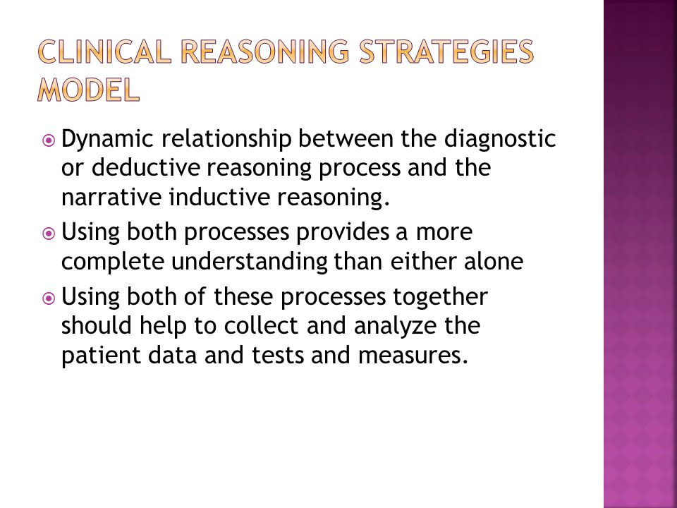 Clinical Reasoning Strategies Model