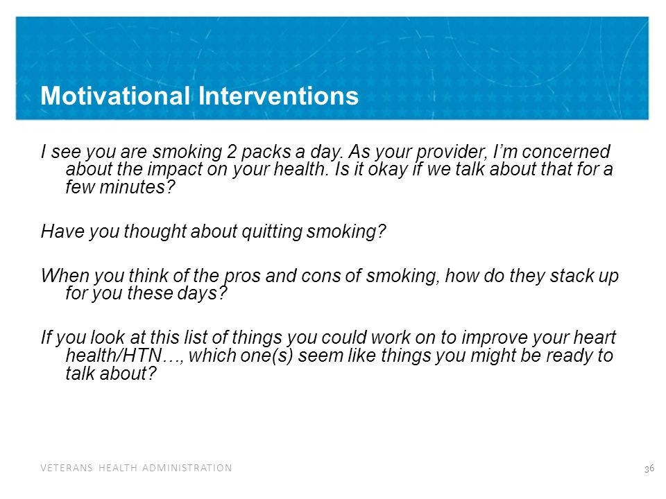 Motivational Interviewing: Importance and Confidence Rulers