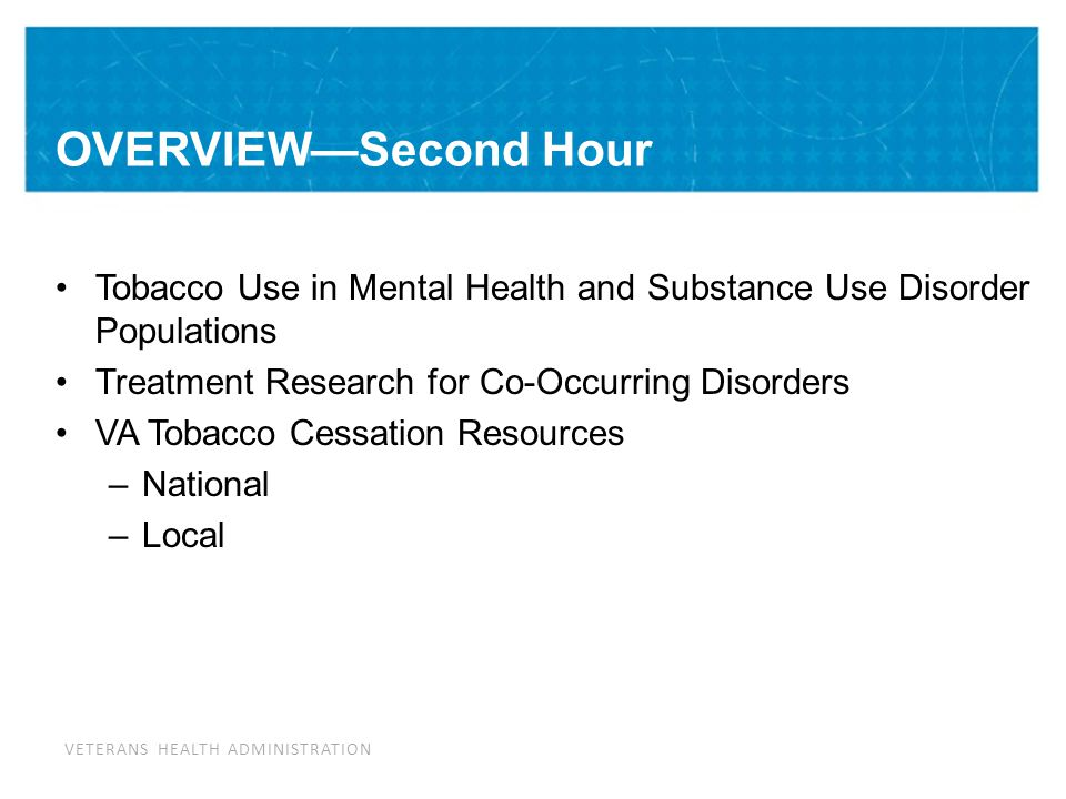 Tobacco Use in Mental Health Populations: The Problem