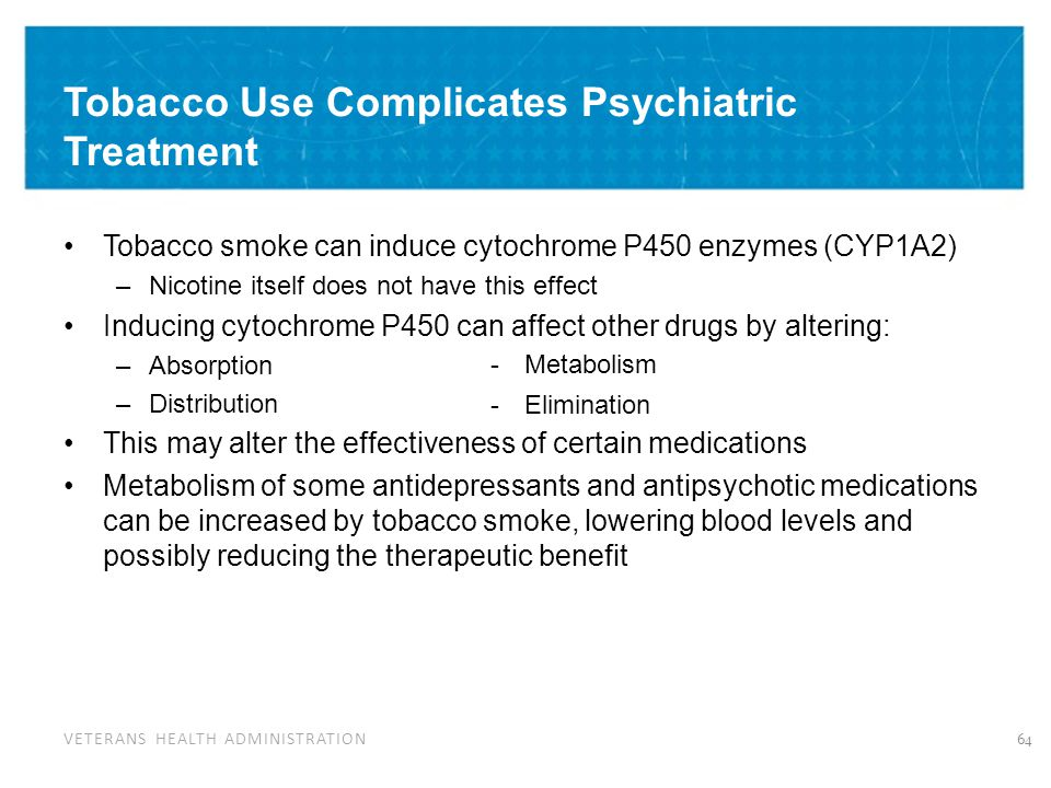 Pharmacokinetic Drug Interactions with Smoking