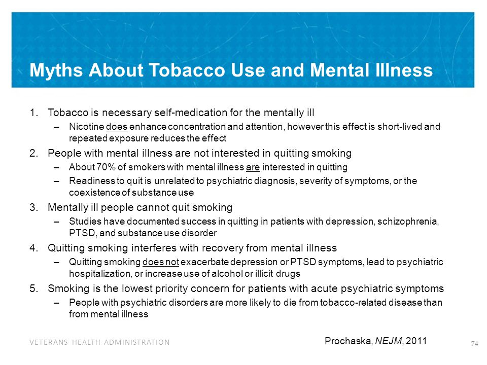 Smoking and Substance Use Disorder