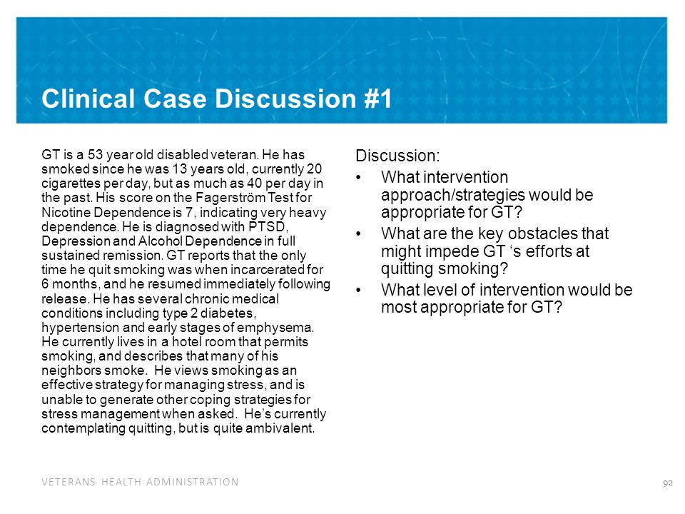 Clinical Case Discussion #2