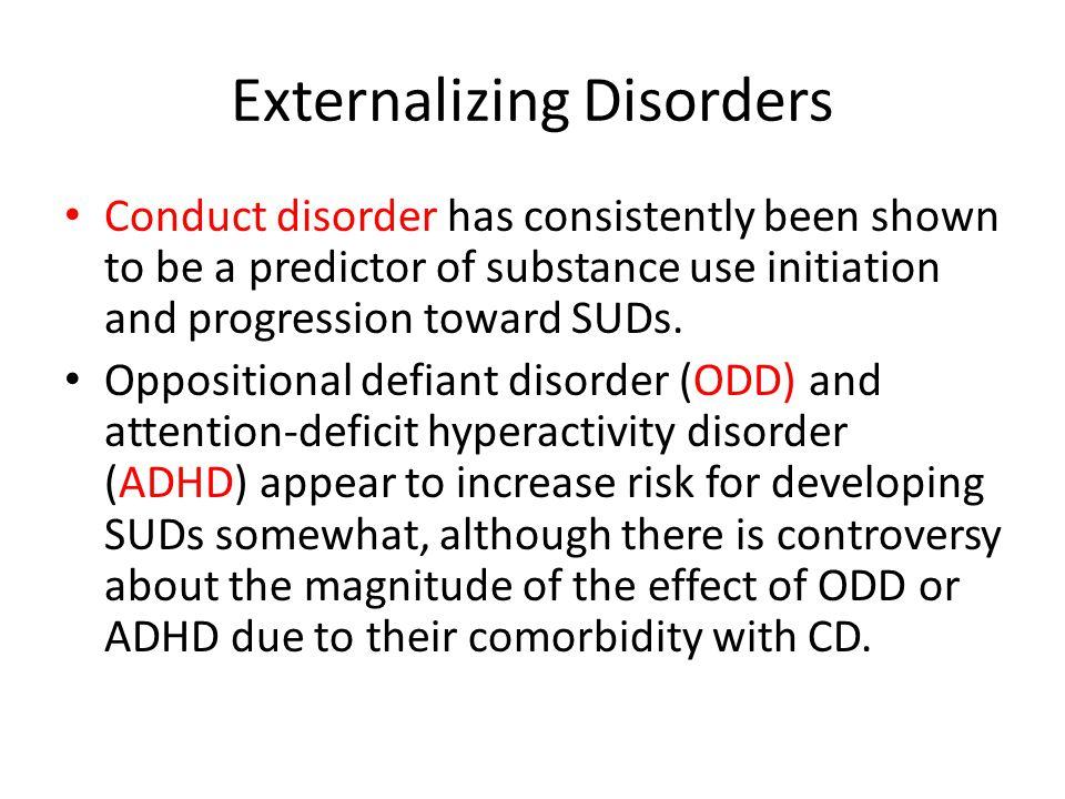 Externalizing Disorders