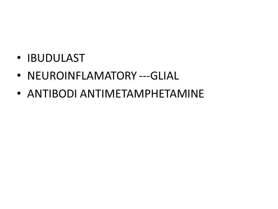 IBUDULAST NEUROINFLAMATORY ---GLIAL ANTIBODI ANTIMETAMPHETAMINE
