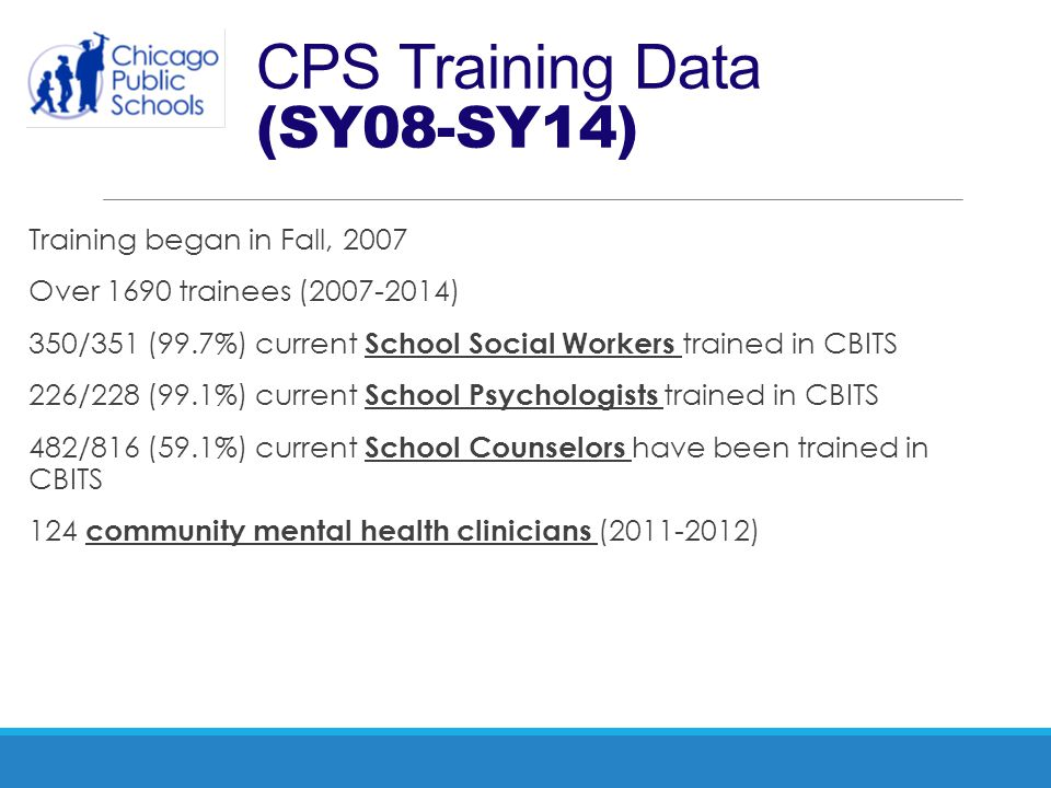 CPS Training Data (SY08-SY14)