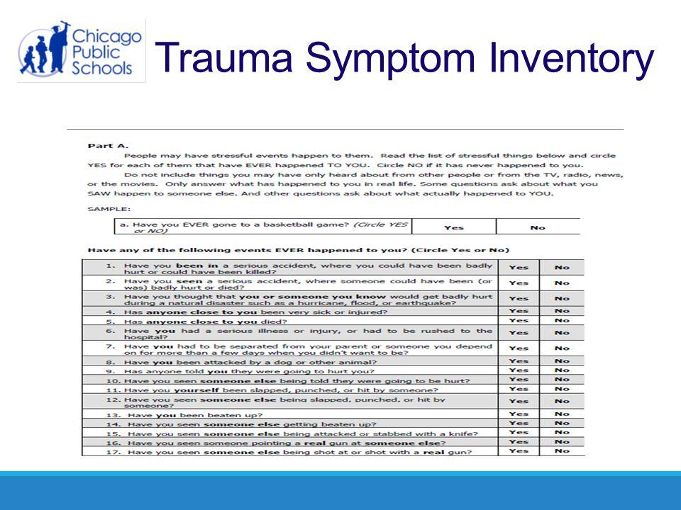 Trauma Symptom Inventory