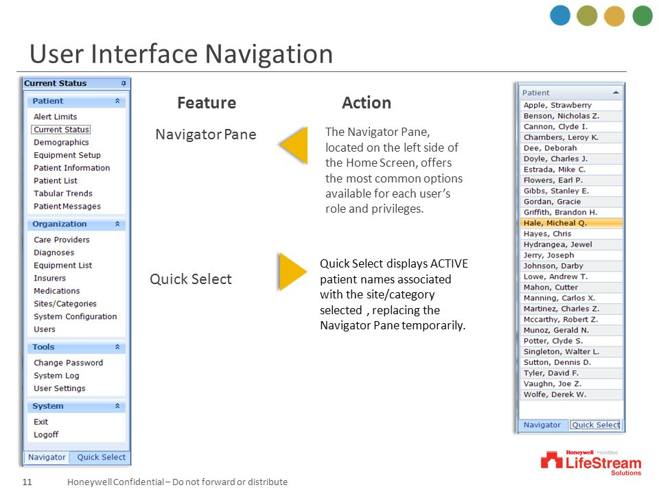 User Interface Navigation
