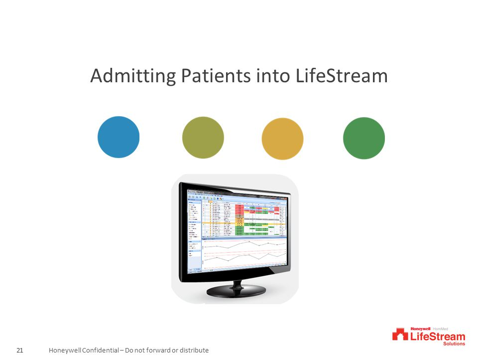 Admitting Patients into LifeStream