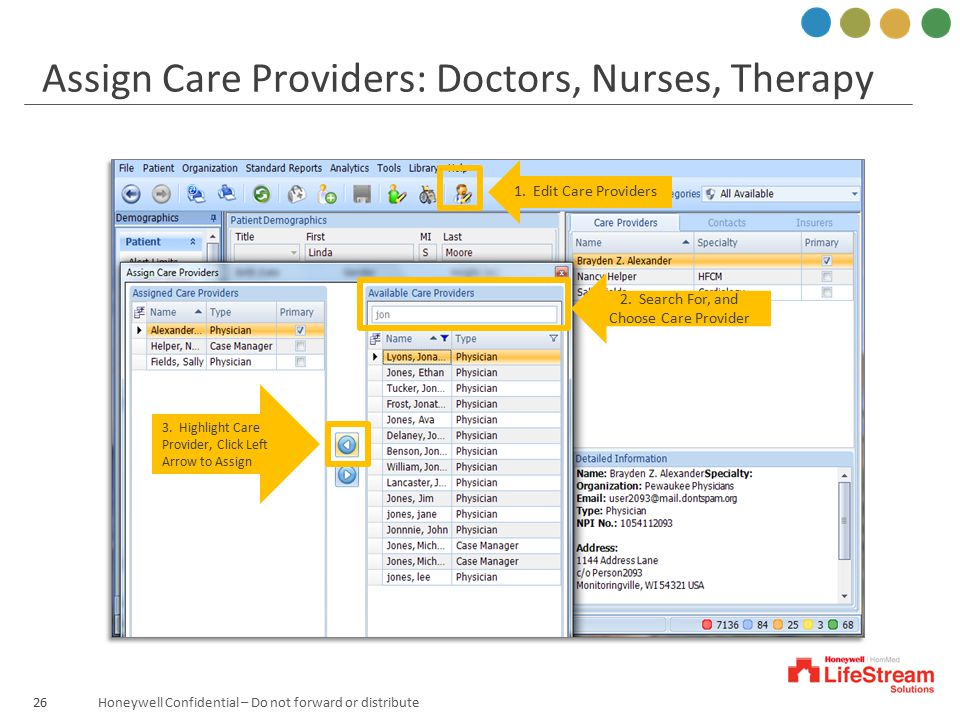 2. Search For, and Choose Care Provider