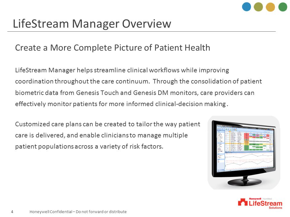 LifeStream Manager Overview