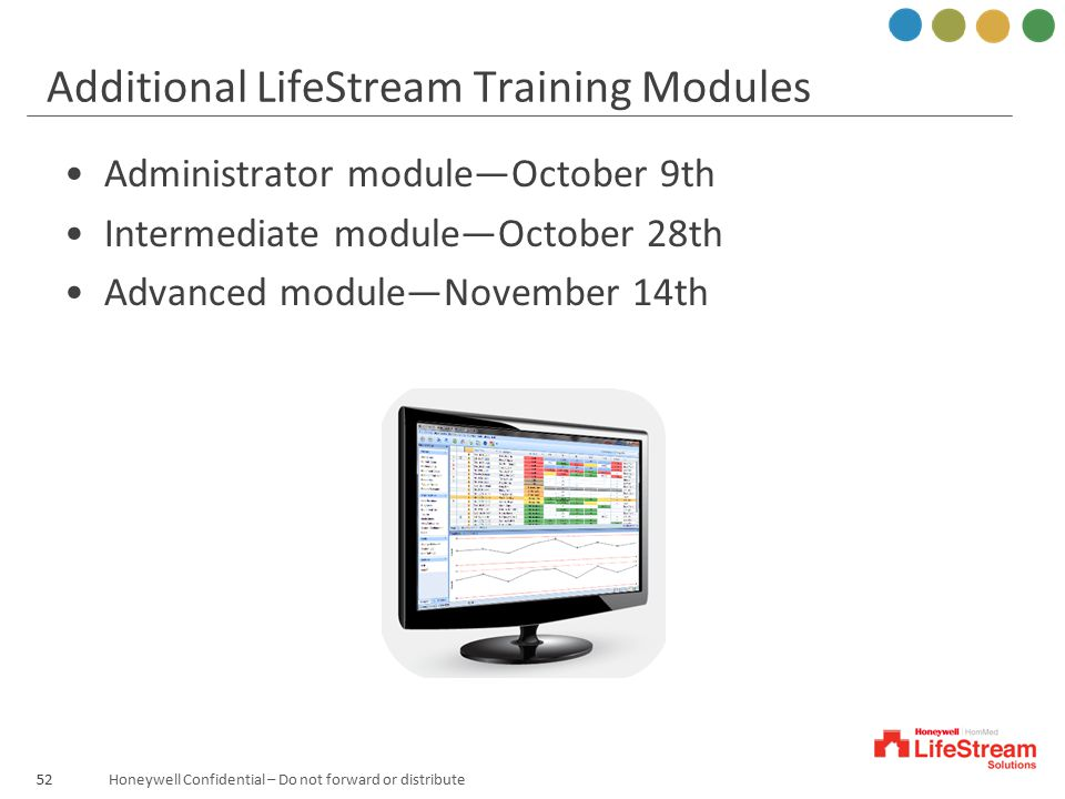 Additional LifeStream Training Modules