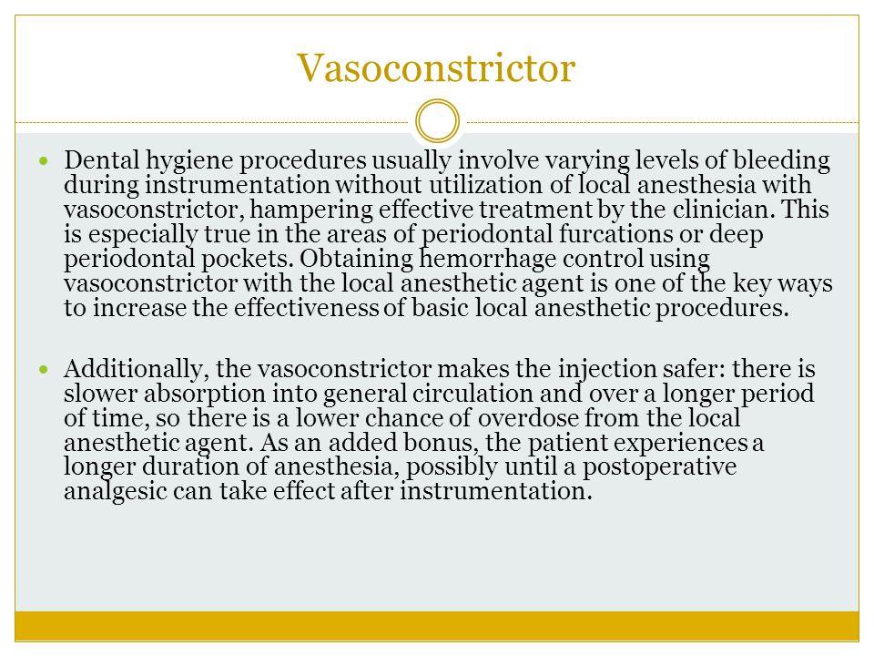 Vasoconstrictor