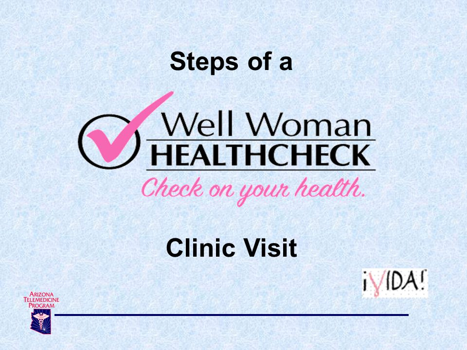 Steps of a Clinic Visit