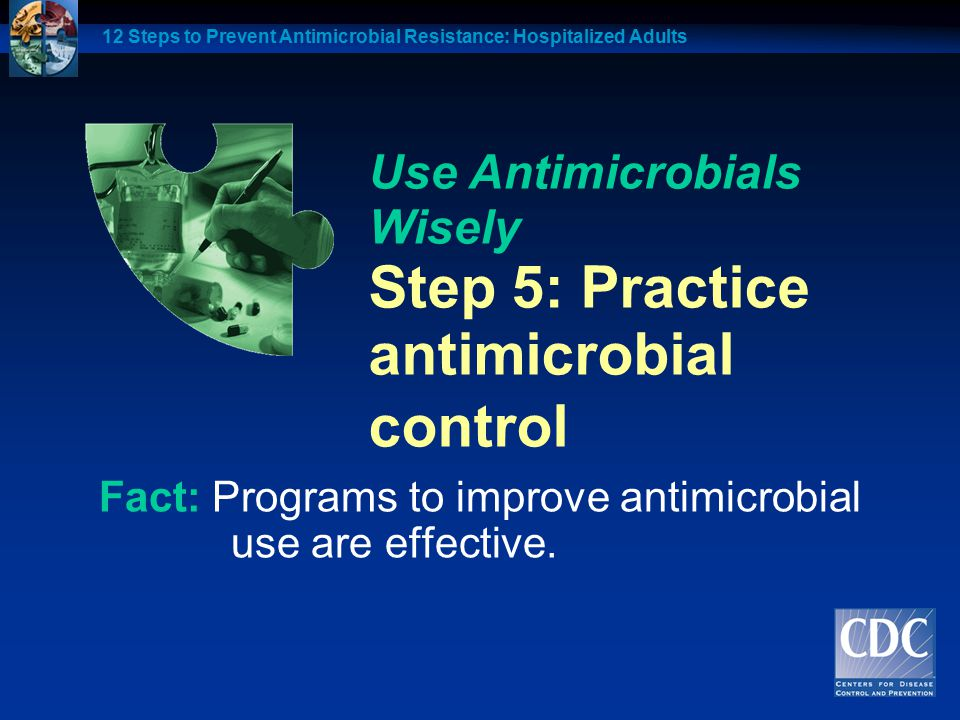 antimicrobial control