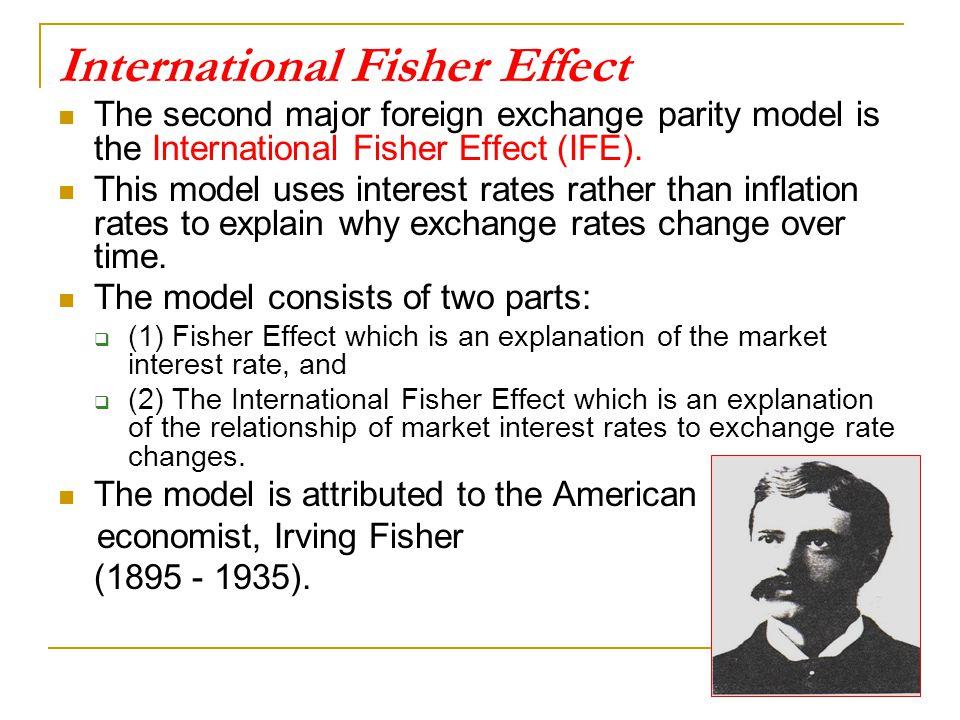 International Fisher Effect