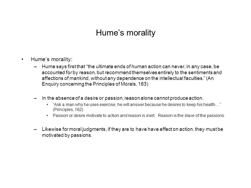 hume and passion aristotles response Hume's moral philosophy first we often say a passion is unreasonable because it arises in response to a passion and value in hume's treatise.