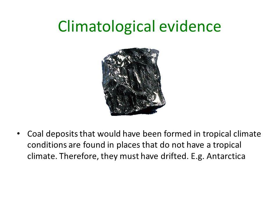 Climatological evidence
