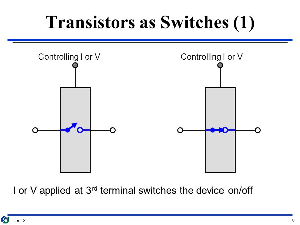 Transistors as Switches (1)