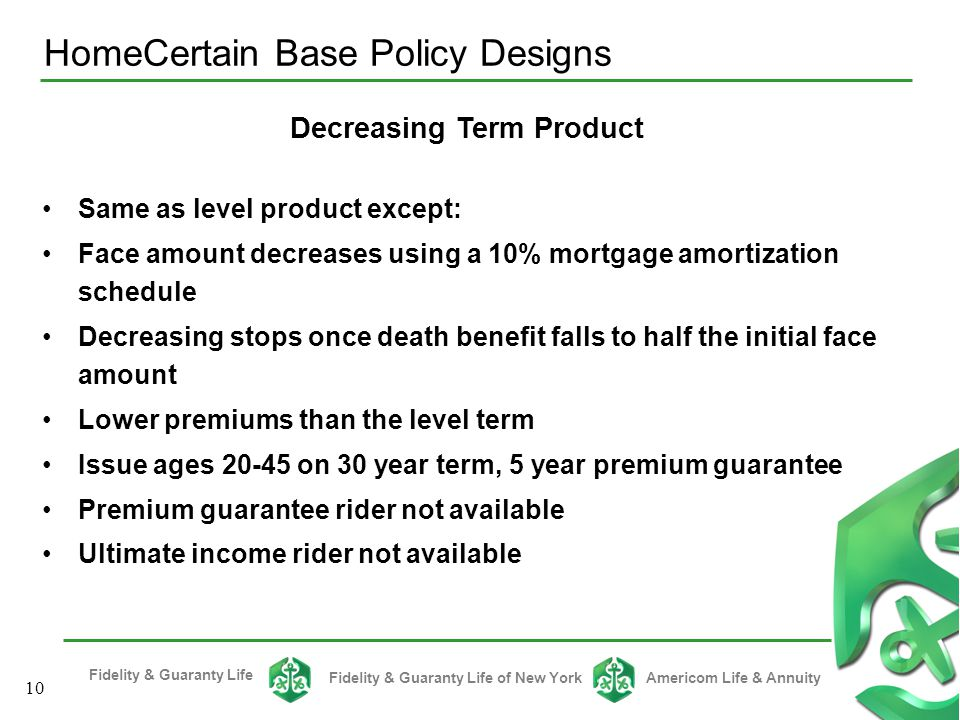 HomeCertain Base Policy Designs