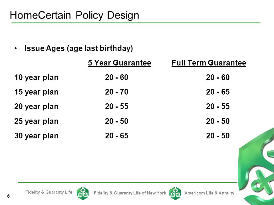 HomeCertain Policy Design