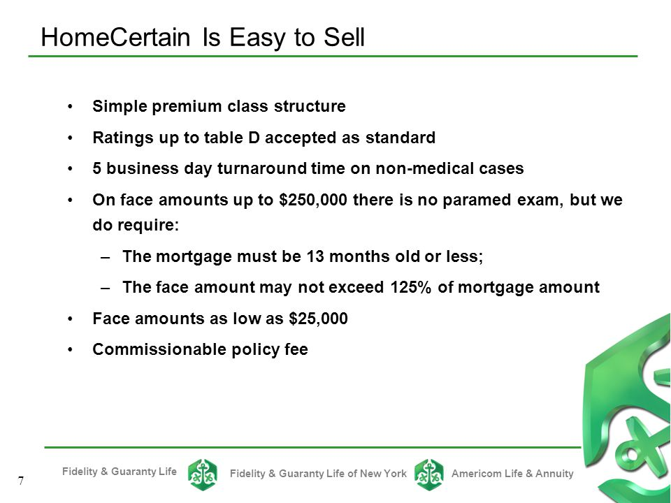 HomeCertain Is Easy to Sell
