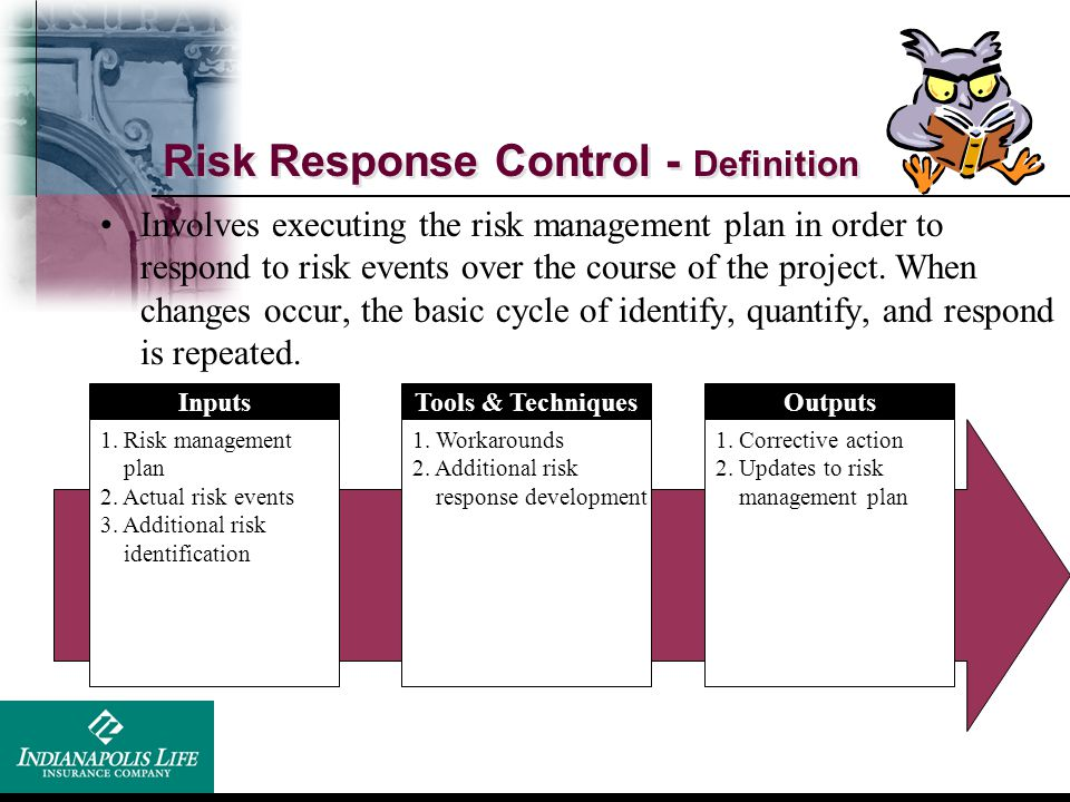 Risk Response Control - Definition