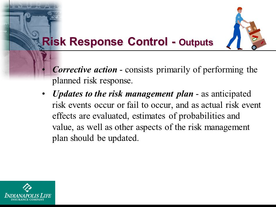 Risk Response Control - Outputs