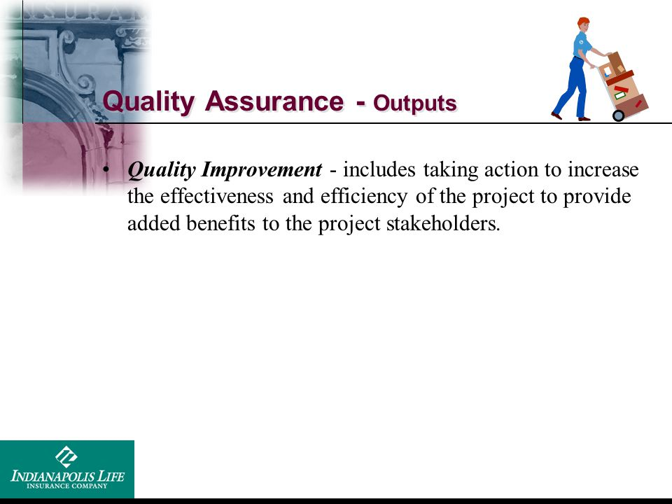 Quality Assurance - Outputs