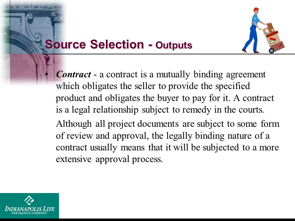 Source Selection - Outputs