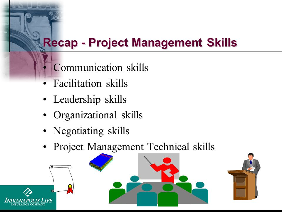 Recap - Project Management Skills