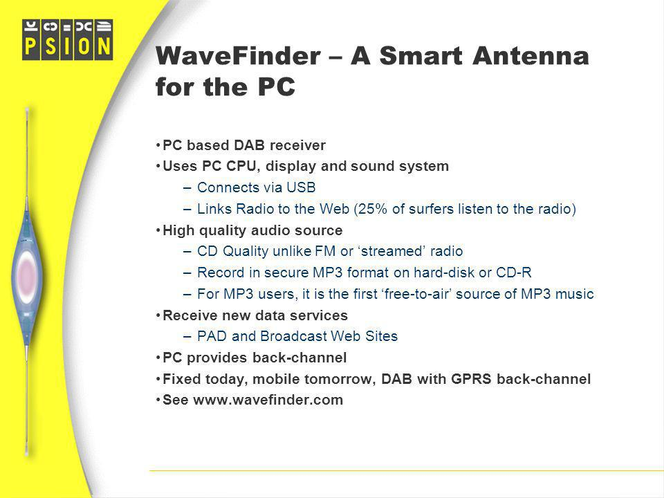 WaveFinder – A Smart Antenna for the PC