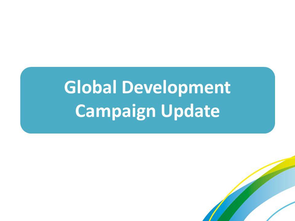 Global Development Campaign Update